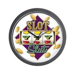Slot Slut Wall Clock