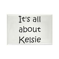Cool Kelsie Rectangle Magnet