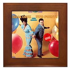 Celia & Tito Framed Tile
