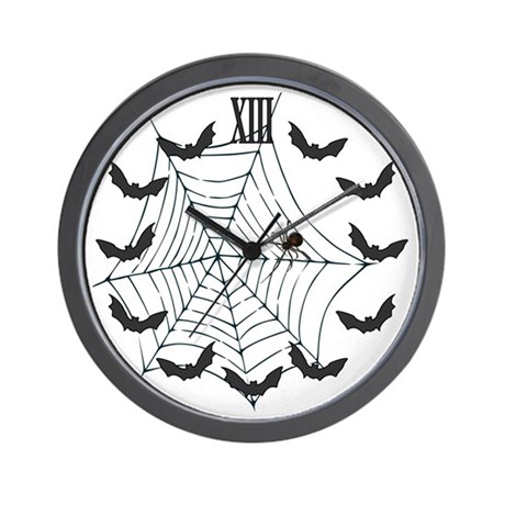 Spider 13 Hour Wall Clock