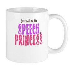 SPEECH PRINCESS Small Mug