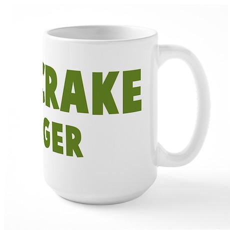 Corncrake Hugger Large Mug