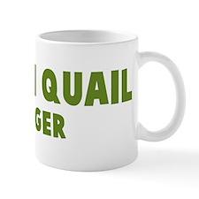 Button Quail Hugger Mug
