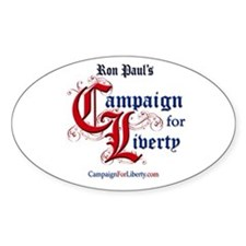Campaign For Liberty Oval Decal