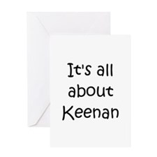 Funny Keenan Greeting Card