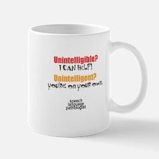 INTELLIGIBLE vs. INTELLIGENT Mug