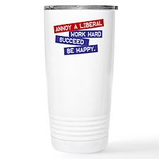 """Annoy a Liberal"" Travel Mug"