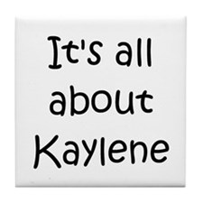 Unique Kaylen Tile Coaster