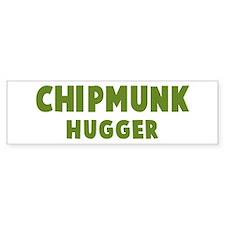 Chipping Sparrow Hugger Bumper Bumper Sticker