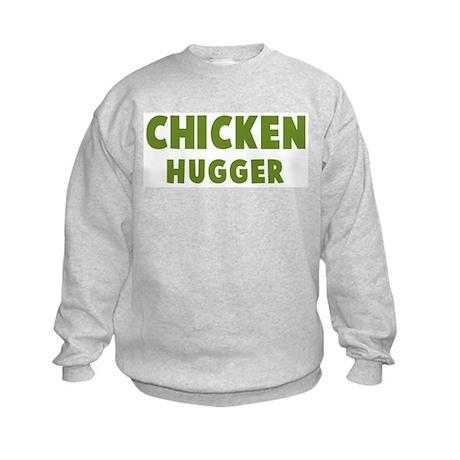 Chicken Hugger Kids Sweatshirt