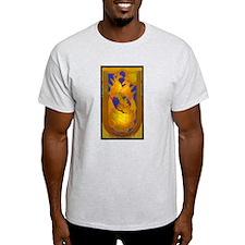 """850 """"Peacock"""" Premium Ash Grey T-Shirt"""