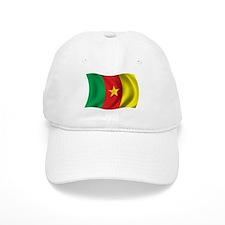 Wavy Cameroon Flag Baseball Cap