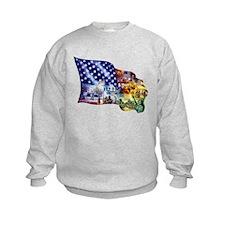 Cute Men's patriotic Sweatshirt