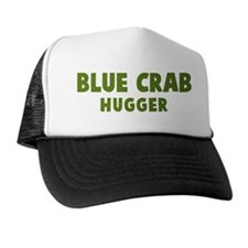 Blue Crab Hugger Trucker Hat