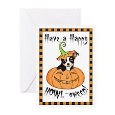 Halloween Chihuahua Greeting Card
