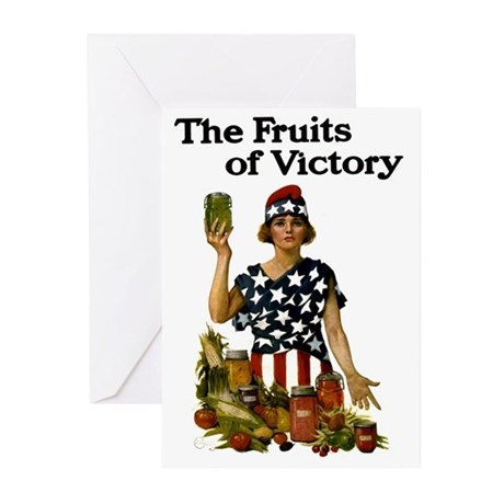 Fruits of Victory Greeting Cards (Pk of 20)