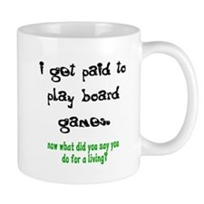 PAID TO PLAY BOARD GAMES Small Mug