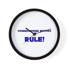 Commissioning Editors Rule! Wall Clock