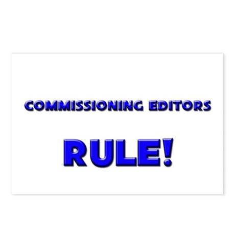 Commissioning Editors Rule! Postcards (Package of