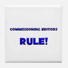 Commissioning Editors Rule! Tile Coaster
