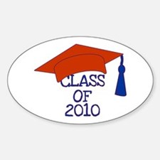Class of 2010 Oval Decal