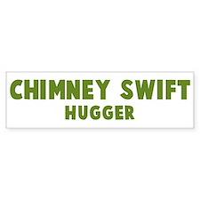 Chimney Swift Hugger Bumper Bumper Sticker