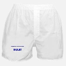 Commercial Photographers Rule! Boxer Shorts