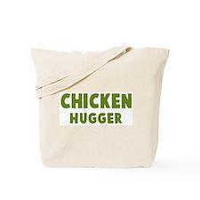 Chicken Hugger Tote Bag