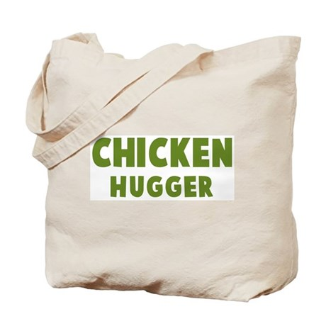 Chicken Hugger Tote Bag