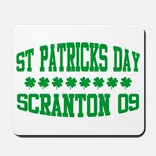 St. Patricks Day Parade Scranton Mousepad