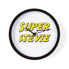 Super stevie Wall Clock