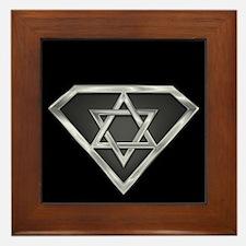 SuperIsraeli(metal) Framed Tile