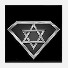 SuperIsraeli(metal) Tile Coaster