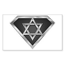 SuperIsraeli(metal) Rectangle Decal