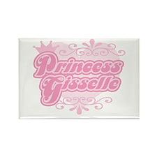 """Princess Gisselle"" Rectangle Magnet"