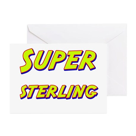 Super sterling Greeting Cards (Pk of 10)