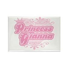 """""""Princess Gianna"""" Rectangle Magnet"""