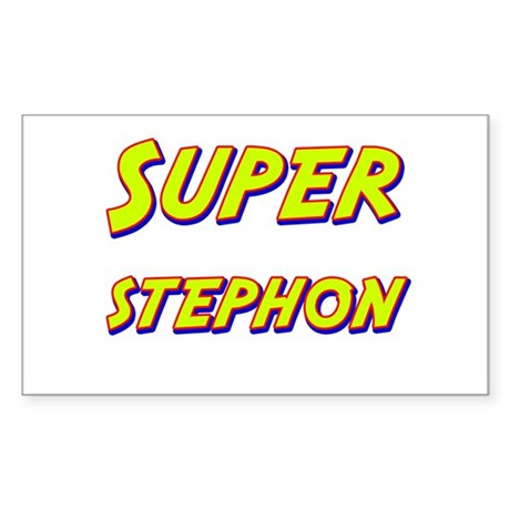 Super stephon Rectangle Sticker