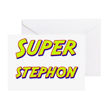 Super stephon Greeting Cards (Pk of 10)