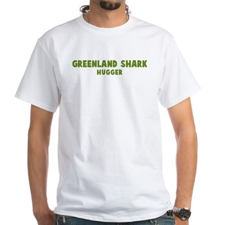 Greenland Shark Hugger White T-Shirt