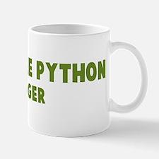 Green Tree Python Hugger Mug