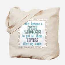 SLP LETTERS Tote Bag