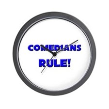 Comedians Rule! Wall Clock