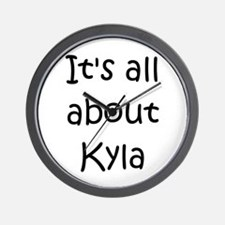 Unique Kyla Wall Clock