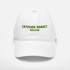 Baseball Baseball Capuchin Monkey Hugger Baseball Baseball Cap