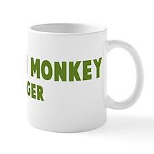 Capuchin Monkey Hugger Mug