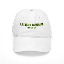 Eastern Bluebird Hugger Baseball Cap