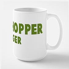 Grasshopper Hugger Large Mug