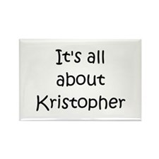 Cool Kristopher Rectangle Magnet