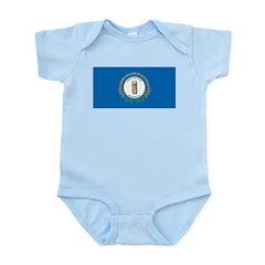 Kentucky Flag Infant Creeper